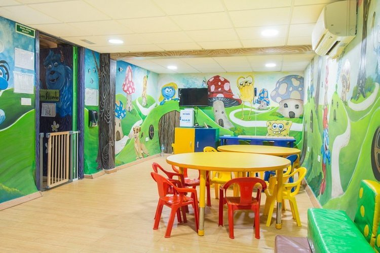 Juegos infantiles Hotel Magic Rock Gardens Benidorm