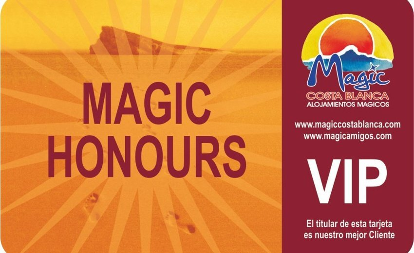 Club VIP 'Magic Honours' Magic Aqua™ Rock Gardens Benidorm
