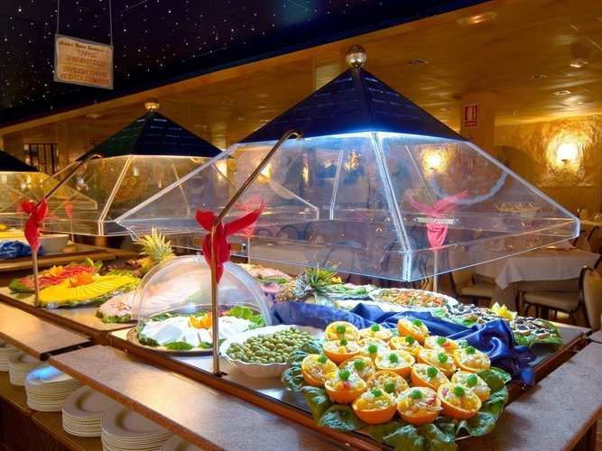 Restaurante Buffet Hotel Magic Rock Gardens Benidorm