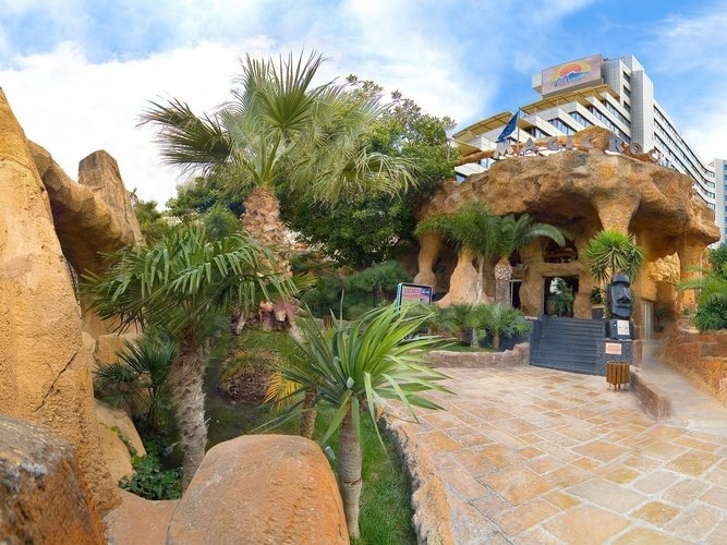Fachada Hotel Magic Rock Gardens Benidorm